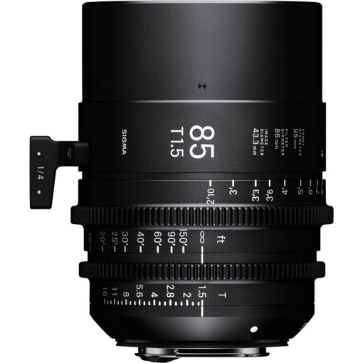 OBJECTIF SIGMA 85MM T1.5 FF F/CE (86mm) Canon EF