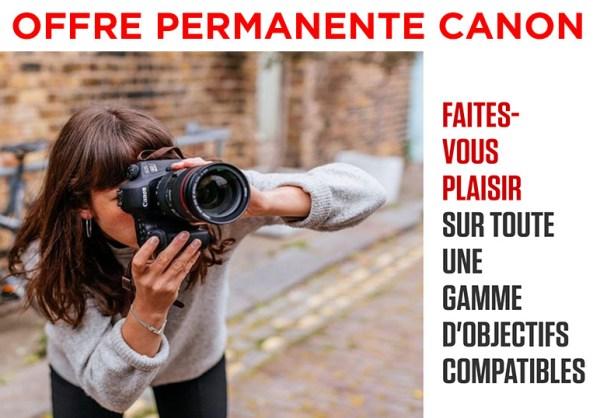 Offre Canon Créez Votre Kit