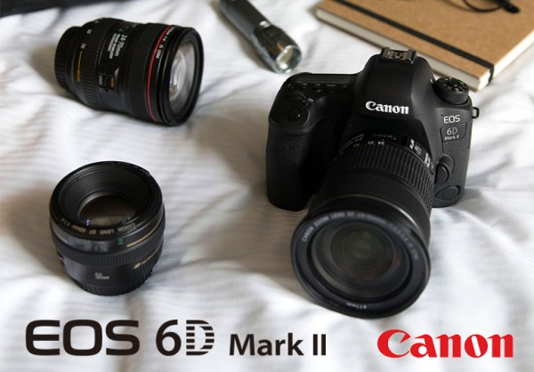 Canon présente son nouveau reflex : l'EOS 6D Mark II