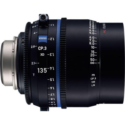 ZEISS CP.3 135mm T2.1 Monture PL Métrique XD eXtended D - Objectif Prime