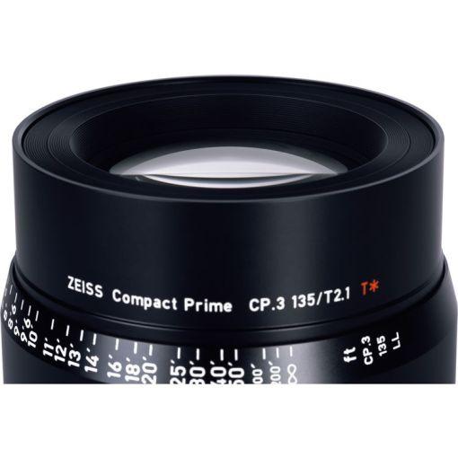 ZEISS CP.3 135mm T2.1 Monture EF Impérial - Objectif Prime