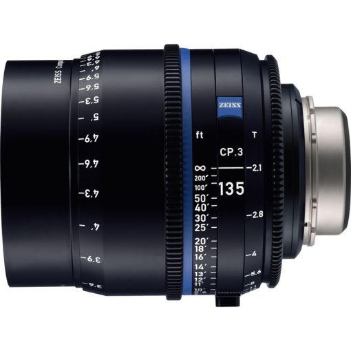 ZEISS CP.3 135mm T2.1 Monture EF Métrique - Objectif Prime