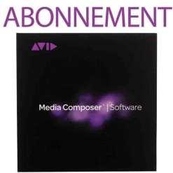 Avid Media Composer Souscription Logicielle Annuelle