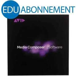 Avid Media Composer EDU Souscription pour institution