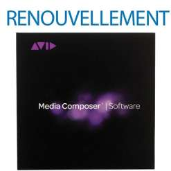 Avid Media Composer Renouvellement MAJ & Support Annuel