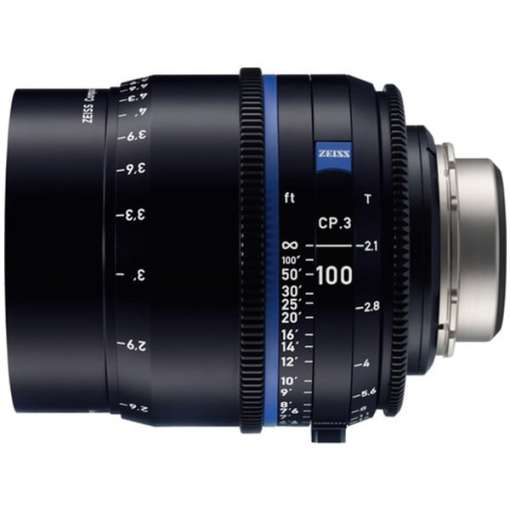 ZEISS CP.3 100mm T2.1 (Sony E,) imperial) - Objectif Prime Cinéma