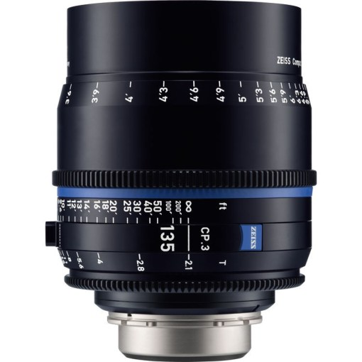 ZEISS CP.3 135mm T2.1 Monture F Impérial - Objectif Prime