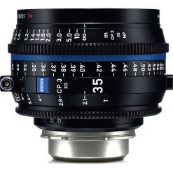 OPTIQUE ZEISS CP3 35mm T2.1 MONT PL IMPERIAL XD eXtended Da
