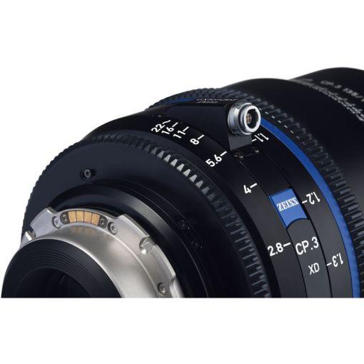 ZEISS CP.3 35mm T2.1 Monture PL Métrique XD - Objectif Prime