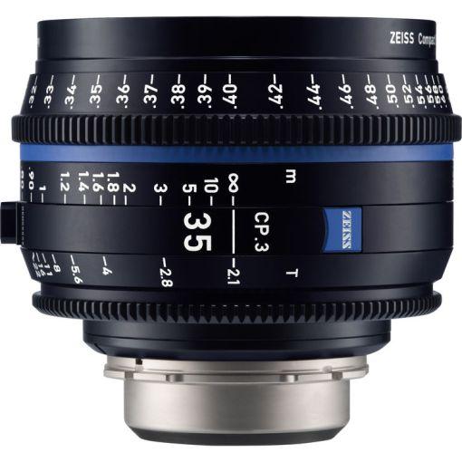 ZEISS CP.3 35mm T2.1 Monture PL Impérial - Objectif Prime