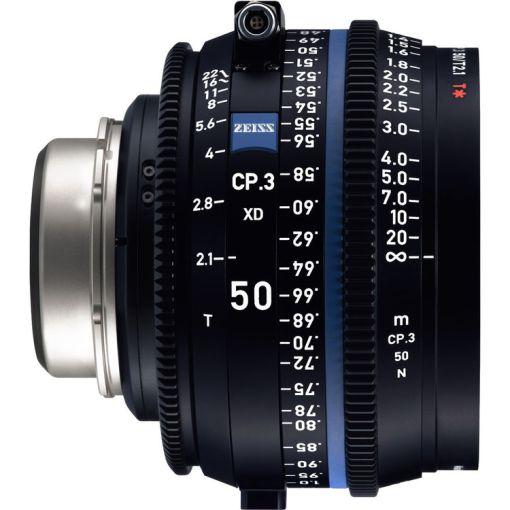 ZEISS CP.3 50mm T2.1 Monture PL Impérial XD - Objectif Prime