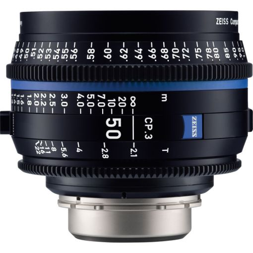 OPTIQUE ZEISS CP3 50mm T2.1 MONT F METRIQUE