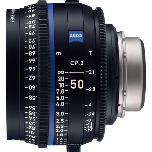 ZEISS CP.3 50mm T2.1 Monture MFT Impérial - Objectif Prime
