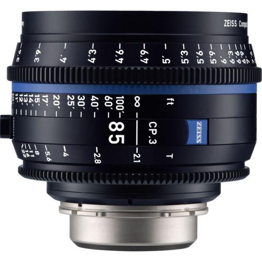 ZEISS CP.3 85mm T2.1 Monture EF Métrique - Objectif Prime