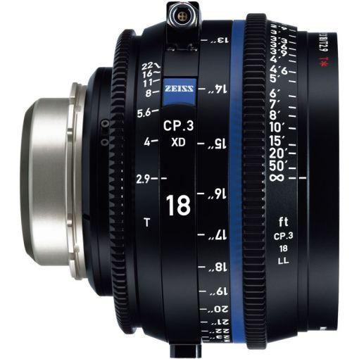 ZEISS CP.3 18mm T2.9 Monture PL Métrique XD - Objectif Prime