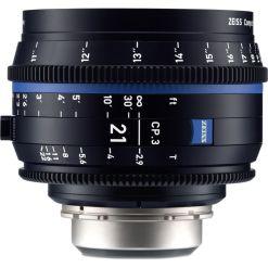 ZEISS CP.3 21mm T2.9 Monture E Impérial - Objectif Prime