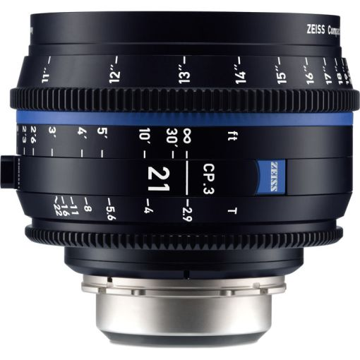 OPTIQUE ZEISS CP3 21mm T2.9 MONT F IMPERIAL