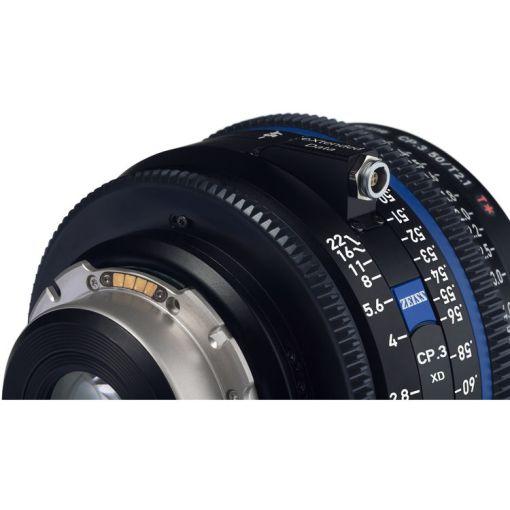 ZEISS CP.3 25mm T2.1 Monture PL Métrique XD - Objectif Prime