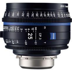 OPTIQUE ZEISS CP3 25mm T2.1 MONT E METRIQUE