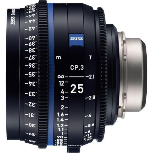 OPTIQUE ZEISS CP3 25mm T2.1 MONT EF IMPERIAL