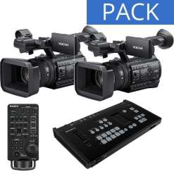 Pack Sony mélangeur MCX-500 +2 caméras PXW-Z150 + RM-30BP