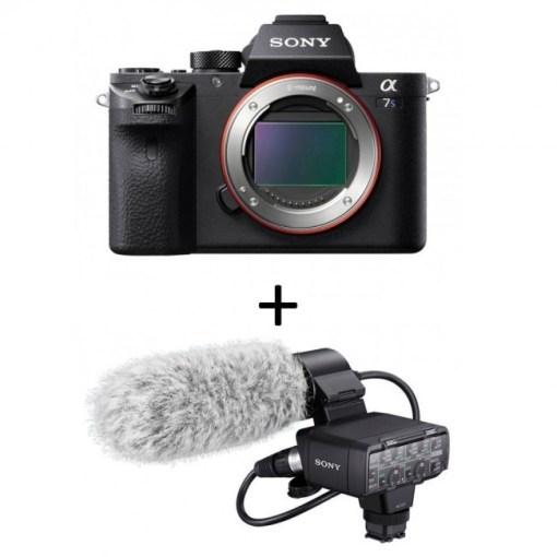 KIT Sony alpha 7s II avec micro XLR-K2M