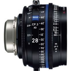 OPTIQUE ZEISS CP3 28mm T2.1 MONT PL METRIQUE XD eXtended Da