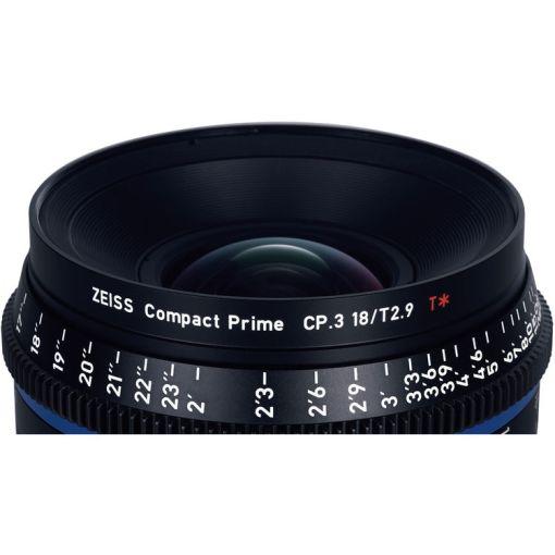 ZEISS CP.3 28mm T2.1 Monture EF Métrique - Objectif Prime