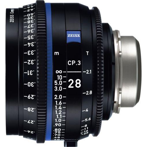 ZEISS CP.3 28mm T2.1 Monture MFT Métrique - Objectif Prime