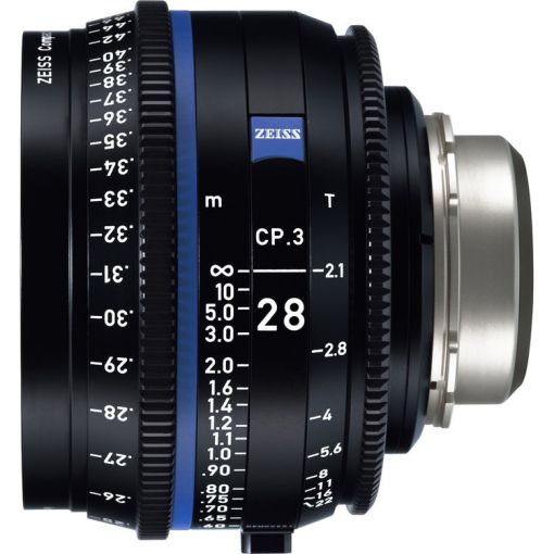 ZEISS CP.3 28mm T2.1 Monture F Impérial - Objectif Prime