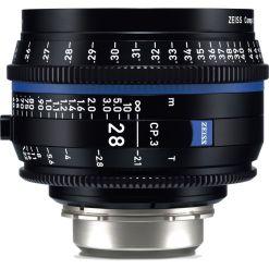 ZEISS CP.3 28mm T2.1 (Canon EF, métrique) - Objectif Prime Cinéma