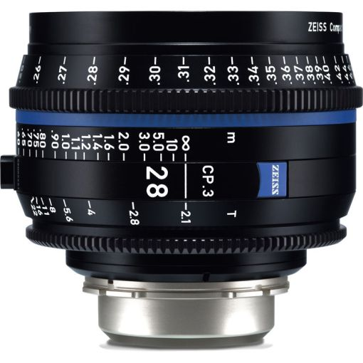 ZEISS CP.3 28mm T2.1 (Micro 4/3, imperial) - Objectif Prime Cinéma