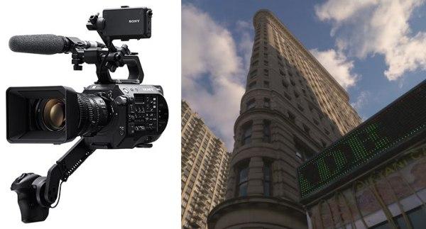 Caméra Sony FS7 II  : détails et démo technique !