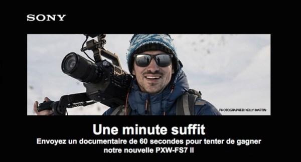 CONCOURS : gagnez une caméra Sony PXW-FS7 II !