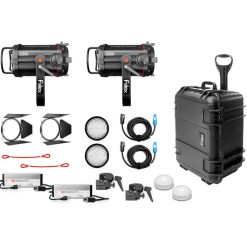 Kit d'éclairage FIILEX X252 (2-Q500 DC)