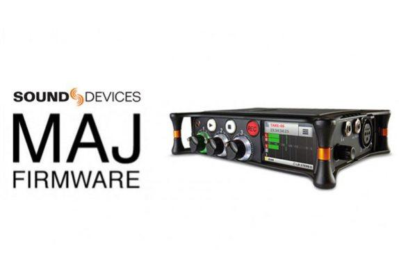 Nouveau firmware Sound Devices