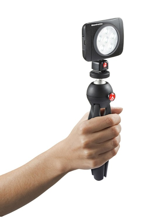 MINI TORCHE LED MANFROTTO MLUMIEART-BK