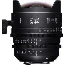 Sigma 14mm T2 FF F/VE (Sony E) - Objectif Cinéma