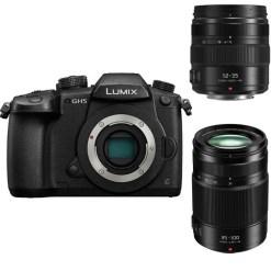 Panasonic Lumix DC-GH5 + 12-35mm +35-100mm - Kit Appareil Photo et Objectif