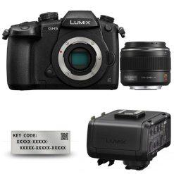 Panasonic Lumix DC-GH5 + 25mm 1.4 Leica + VLog + XLR1E - Kit Appareil Photo et Objectif