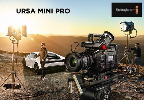 La URSA Mini Pro, la caméra trois-en-un de Blackmagic Design