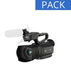 PACK CAMESCOPE JVC GY-HM200ESB
