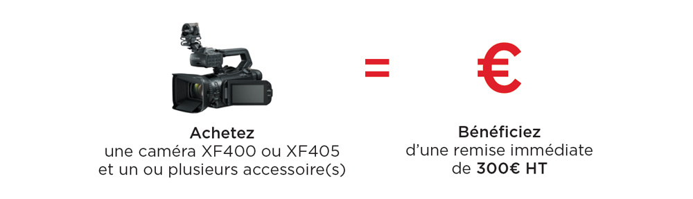 PACK CANON XF405