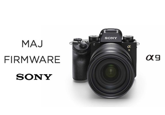 Version 2.0 du Firmware Sony Alpha9