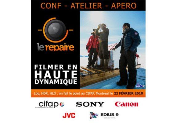 """Conférence """"Filmer en Haute Dynamique"""""""