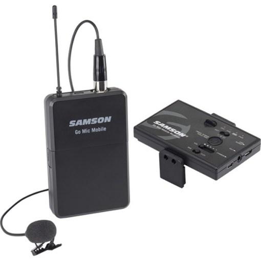 KIT 2 CANAUX HF POUR SMARTPHONE AVEC MICRO CRAVATE SAMSON GO MIC MOBILE