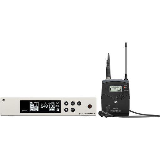 Sennheiser EW 100 ME2 serie G4 - Kit HF Micro Cravate Émetteur Récepteur Fixe