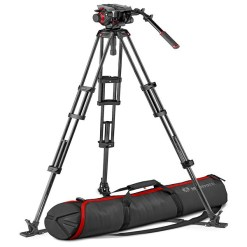 KIT MANFROTTO ROTULE 504 ET TREPIED CF TWIN GS
