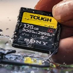 Carte Sd Sony Tough impermeable