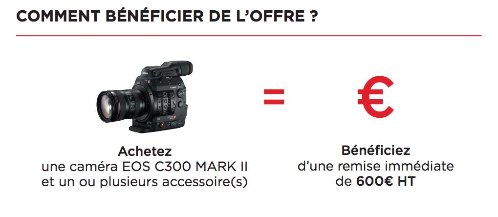 Modalités Offre Canon C300